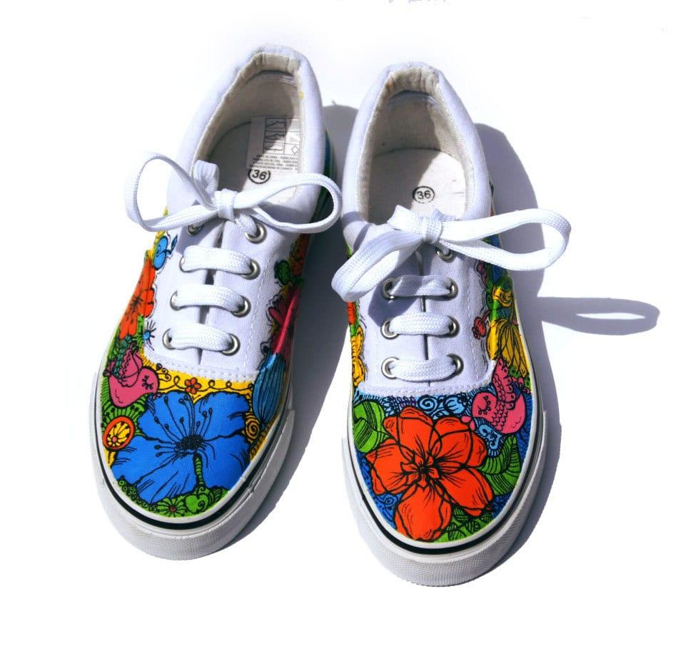 Vans Decorated Shoes