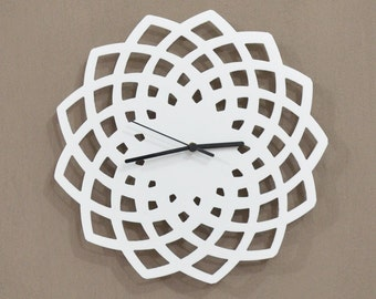 Geometrical Star Silhouette - Wall Clock