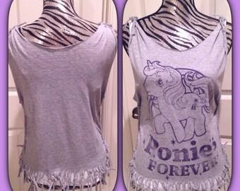 My little pony unicorn cut shirt