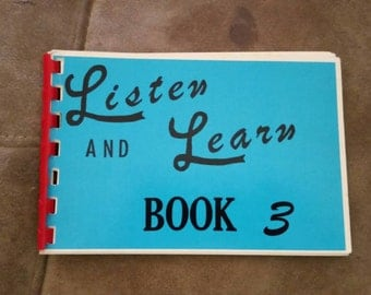 Listen and Learn Books 1 and 3
