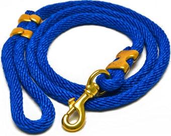 "Dog Rope ""CLASSIC"" Dog Leash - in BLUE"