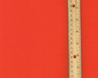 Solid Orange Fabric, Orange Cotton Fabric, Fabric by the Yard, Fall Fabric