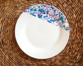 Liberty plate hand painted