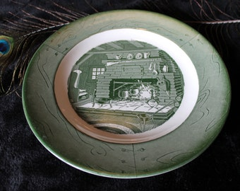"""Colonial Homestead by Royal 10"""" Dinner Plate"""