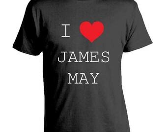 I Love James May - Funny T-shirt