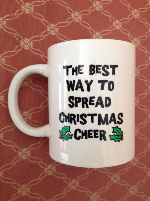 Christmas Elf quote Mug
