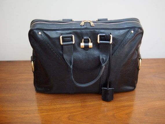 Vintage Yves Saint Laurent Iconic Muse Soft Briefcase by Brysephs