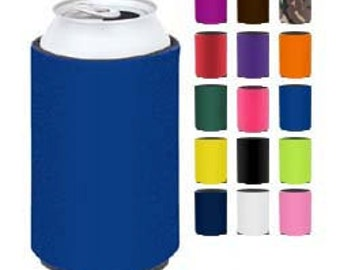 Scuba Foam Insulated Can cooler-Can insulated beverage wrap-Collapsable