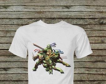 Teenage Mutant Ninja Turtle TMNT DIY Instant Download Iron On Transfer