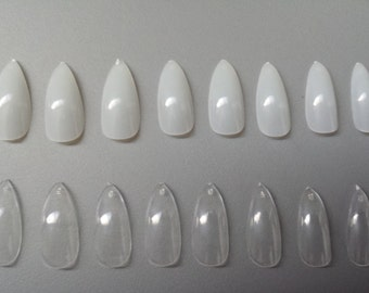 24 Stiletto Nails - Press on Nails - Glue on Nails - Pointy Sharp Claw Nails - Vampire Claw Nail