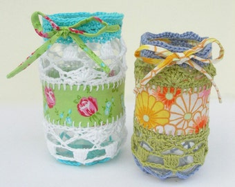 crochet jar coverEtsy UK