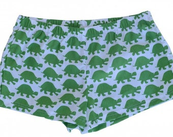 Green Turtle Boxer Shorts