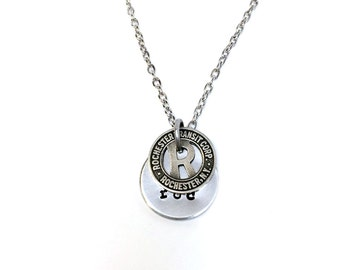 Rochester (NY) Transit Token Necklace
