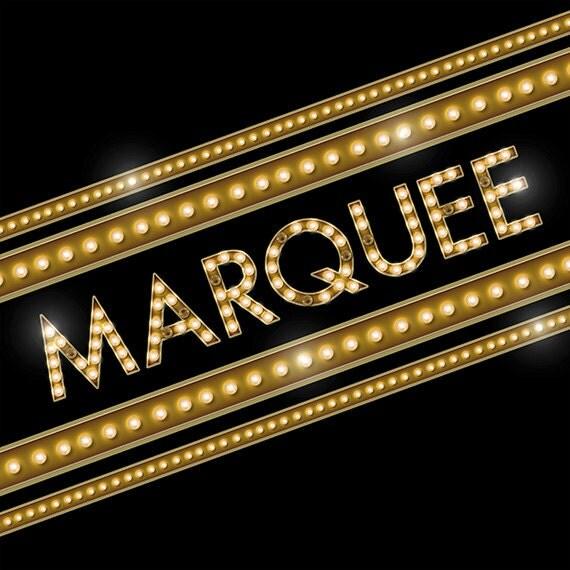 Broadway Lights Marquee Digital Alphabet Broad...