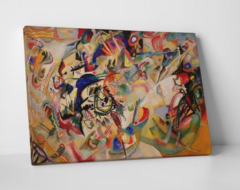 Composition VII by Kandinsky Gallery Wrapped Canvas Wall Art