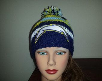 knitting Sports chargers beanie