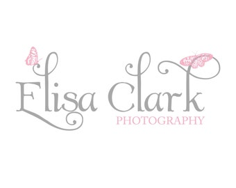 Premade photography logo design photography watermark