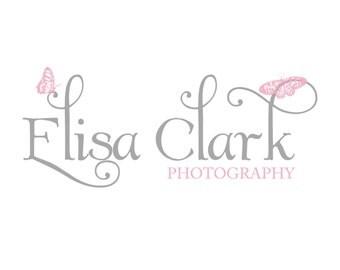 Premade photography logo design photography watermark