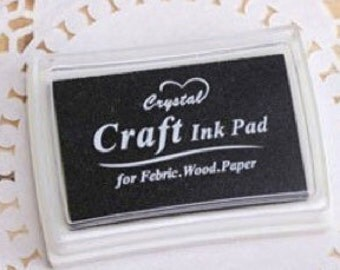 Stamp pads black