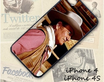 John Wayne cell phone Case / Cover for iPhone 4, 5, Samsung S3, HTC One X, Blackberry 9900, iPod touch 4 / 103