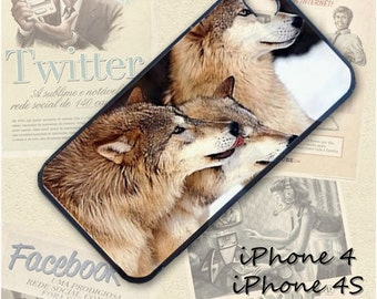 Wolf Pack cell phone Case / Cover for iPhone 4, 5, Samsung S3, HTC One X, Blackberry 9900, iPod touch 4 / 289