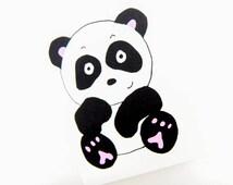 Handmade Panda Card