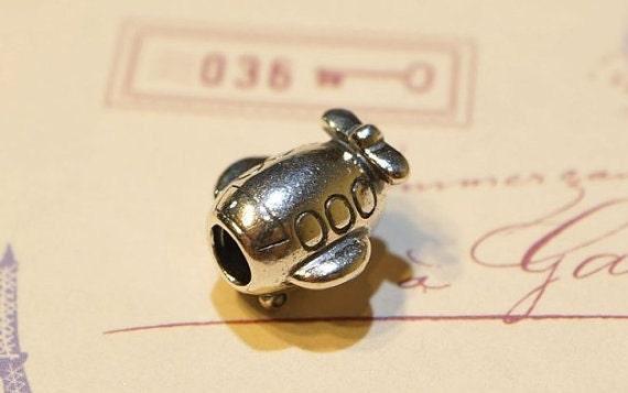 Pandora Charm, 925 silver, PLANE, ALE marked, travel