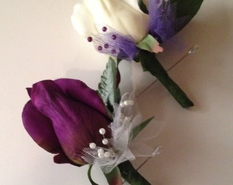 Affordable Wedding Boutonnieres