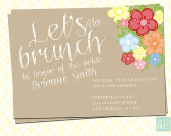 Baby Shower Brunch Invitations as awesome invitation example