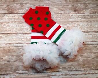 Holiday / Christmas Leg Warmers