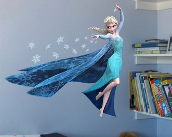 Merveilleux Frozen Elsa Removable Vinyl Wall Decal Stickers Kids Room Home Decor