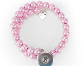 Pearl Snap Bracelets-Popper not included