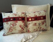 Buttons Decorative Pillow