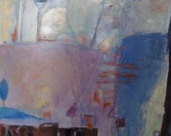 ABSTRACT / SURREALISM ORIGINAL Painting