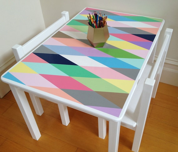table and chair set harlequin design children 39 s table