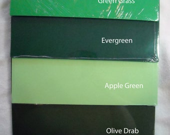 APPLE GREEN Cardstock--25 sheet pack--12 x 12 Size