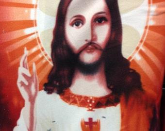 Jesus Polar Fleece Fabric