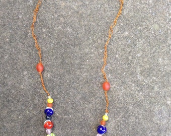 Swirly Bead Necklace