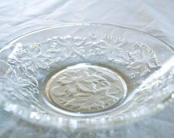 Princess House Fantasia Fruit/Dessert Bowl - crystal glass