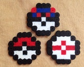Pokeball Mini Bead Sprites - Pick 3 Favorites!
