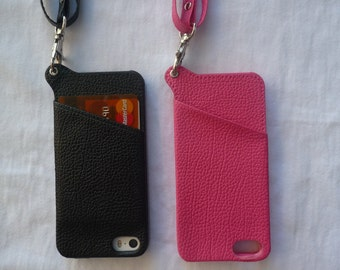 Amazing Always find your Cell Phone  Wearable Crossbody iPhone 5 /5 S Apple Cell Phone Case Wallet-Decorate/DIY