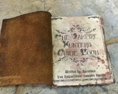 Premiere Vampire Killing Slaying & Hunter Kit Guidebook Prop Antique Style Vintage Wear Leather Bound