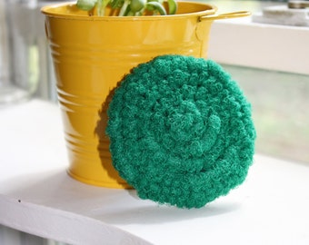 Nylon Netting Scrubby for Washing Dogs or Other Pets, Crocheted Dog Scrubber - Various Colors Available, Also Kitchen or Bath Scrubby