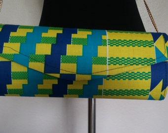Ghana Fabric Clutch Purse