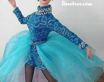 "A ""Torch Song"" Inspired ""Two Faced Woman"" Costume for Tonner's Joan Crawford doll and pals by RETROS"