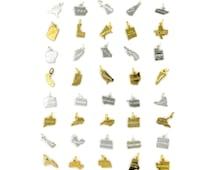 Birdhouse Jewelry - one state charm