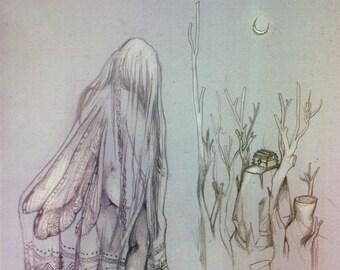 Faerie Treasure - Magical / Fantasy Art Print