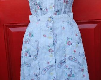 Vintage 2 piece summer dress
