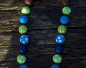 SIMPLE.beads 3 Elements bubble gum bead necklace
