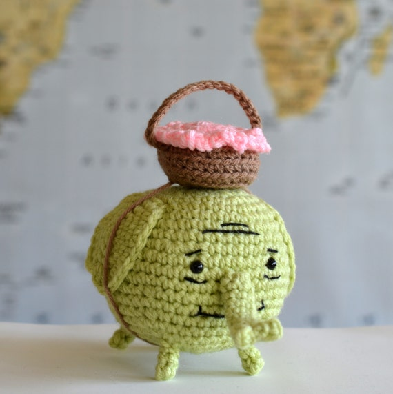 Adventure Time Tree Trunks Elephant Amigurumi Crochet PDF